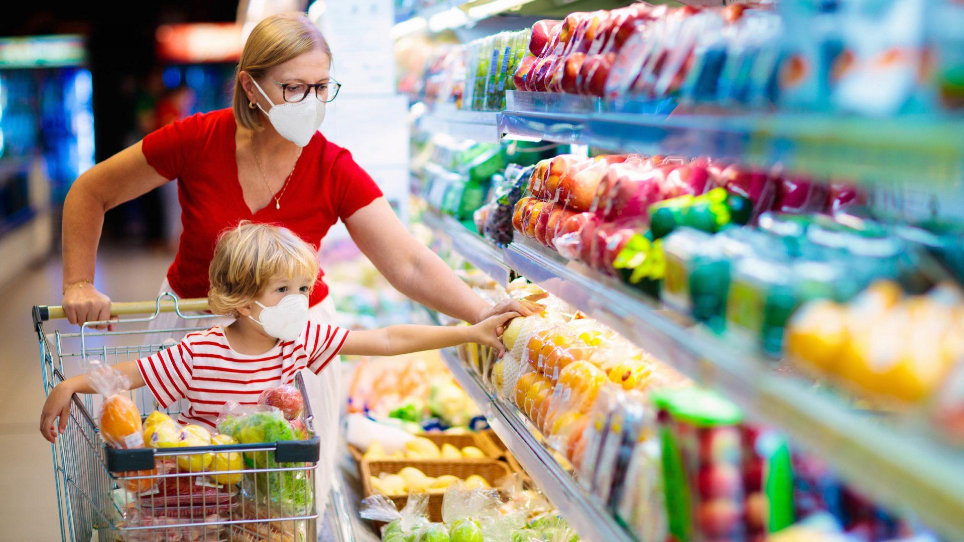 sanificazione supermercato